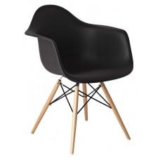 Кресло Domini Прайз (ПЛ черный) (ольха)
