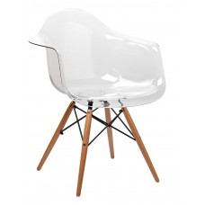 Кресло Domini Прайз (ПЛ прозрачный) (ольха)