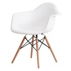 Кресло Domini Прайз (ПЛ белый) (ольха)