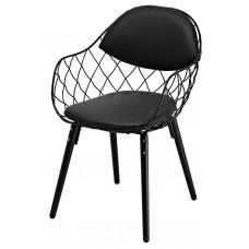 Кресло Domini Вики (КЗ черный) (черный)