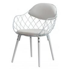 Кресло Domini Вики (КЗ белый) (белый)