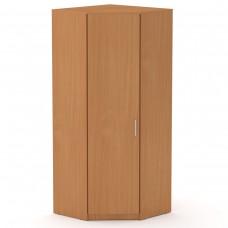 Угловой шкаф для одежды Компанит Шкаф-3У бук