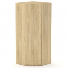 Угловой шкаф для одежды Компанит Шкаф-3У дуб сонома