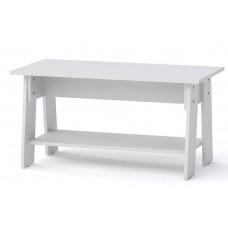 Журнальный столик Компанит Джаз-1 белый