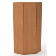 Угловой шкаф для одежды Компанит Шкаф-3У ольха