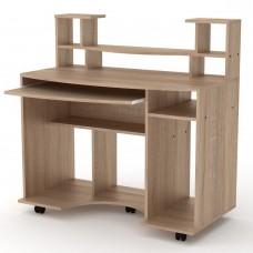 Стол компьютерный Компанит Комфорт-1 дуб сонома