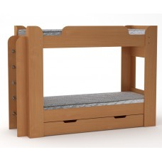 Двухъярусная кровать Компанит Твикс-1бук