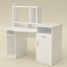 Стол компьютерный Компанит Комфорт-2 альба (белый)