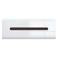 Навесной шкафчик БРВ Ацтека SFW_1K/4/11 белый/белый глянец (004)