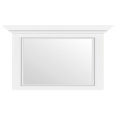 Зеркало на стену Гербор Вайт 160 ясень снежный/сосна серебряная (006-3)