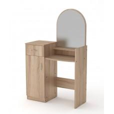 Туалетный столик Компанит Трюмо-1 дуб сонома