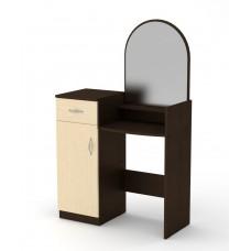 Туалетный столик Компанит Трюмо-1 венге комби