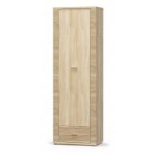Пенал Мебель Сервис Гресс 1Д+1Ш дуб самоа