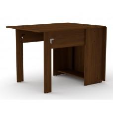 Раскладной стол книжка Компанит-1 орех экко