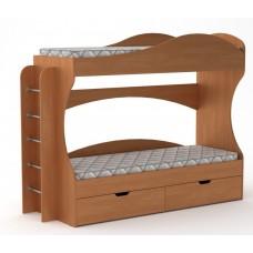 Двухъярусная кровать Компанит Бриз ольха