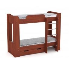 Двухъярусная кровать с ящиком Компанит Твикс-2 яблоня
