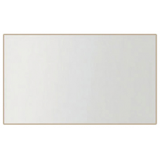Зеркало на стену БРВ Либерти LUS_130 дуб сонома/белый глянец (001)