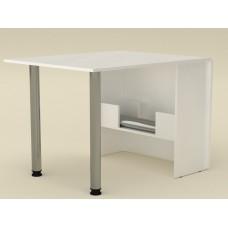Раскладной стол книжка Компанит-2 альба (белый)
