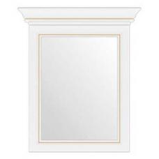 Зеркало на стену Гербор Вайт 60 ясень снежный/сосна золотая (005)