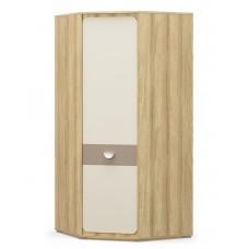 Шкаф угловой Мебель Сервис Лами 1Д блеквуд ячменный