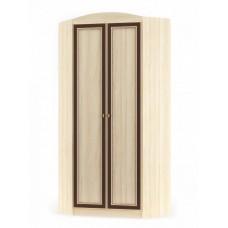 Шкаф угловой Мебель Сервис Дисней 2Д дуб светлый