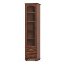 Пенал Мебель Сервис Салма 1В+2Ш вишня портофино