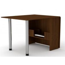 Раскладной стол книжка Компанит-2 орех экко