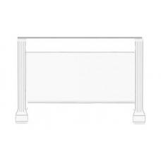 Стол туалетный Гербор Вайт ясень снежный/сосна серебряная (016-4)