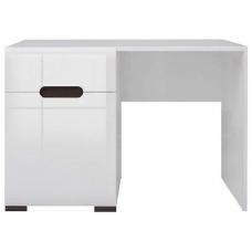 Стол туалетный БРВ Ацтека TOL_1D/1S белый/белый глянец (028)