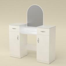 Туалетный столик Компанит Трюмо-2 альба (белый)