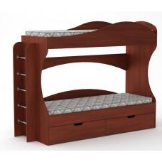 Двухъярусная кровать Компанит Бриз яблоня