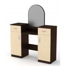 Туалетный столик Компанит Трюмо-2 венге комби