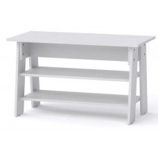Журнальный столик Компанит Джаз-2 белый
