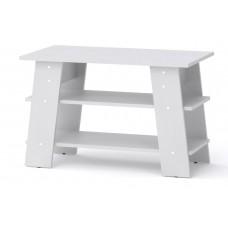 Журнальный столик Компанит Джаз-3 белый