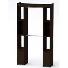 Шкаф - 16 Компанит для гардеробной венге темный