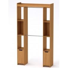 Шкаф - 16 Компанит для гардеробной ольха