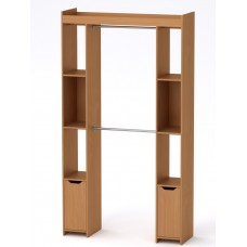 Шкаф - 16 Компанит для гардеробной бук