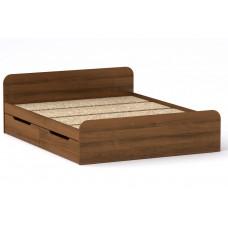 Двуспальная кровать Компанит Виола - 160-4 ящика орех
