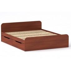 Двуспальная кровать Компанит Виола - 160-4 ящика яблоня