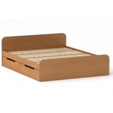Двуспальная кровать Компанит Виола - 160+4 ящика бук