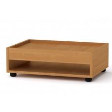 Прямоугольный стол журнальный-2 Компанит МГ-6 ольха