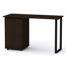 Стол письменный Компанит Лофт-5 венге темный